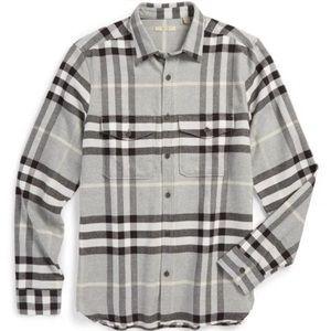 Burberry Brit Nova Check Flannel Button Down Shirt